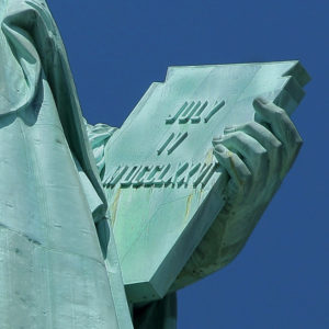Liberty Inscription