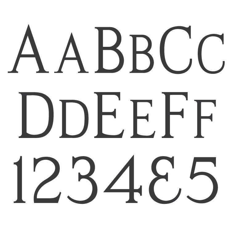 Presto Cut Monument Font