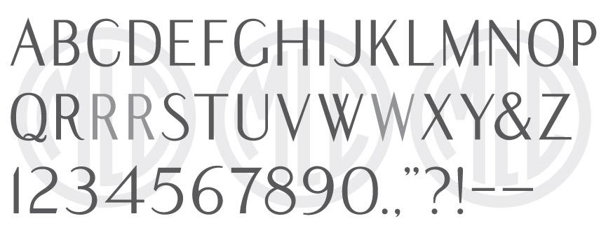 Modified Roman Sans