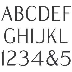Modified Roman Semi Sans font
