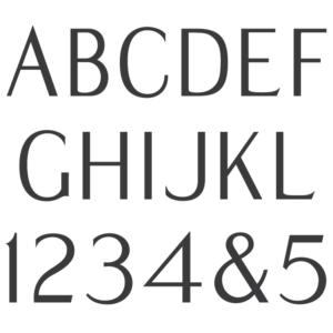 Modified Roman Semi Sans font