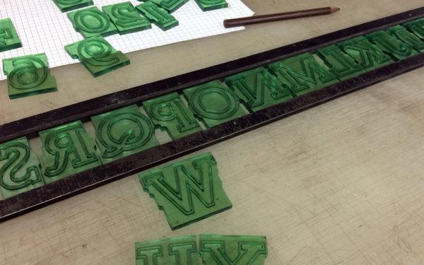 PMD Cutrite Plastic BDO Letters