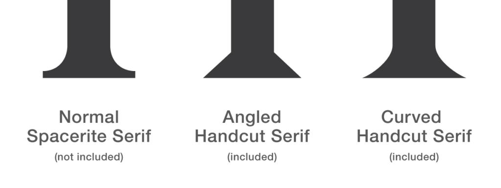 Handcut Roman Serifs