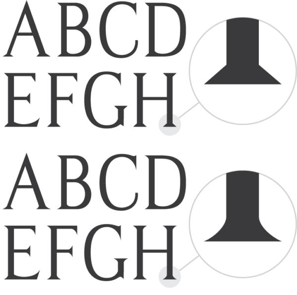 Modified Roman Handcut