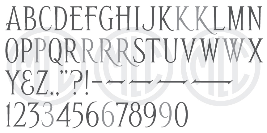 MLC Special Roman 2 Condensed Font