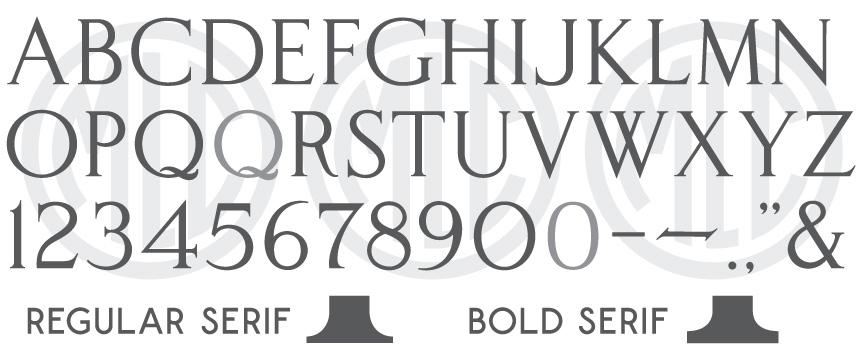 MLC Classic Roman SR font