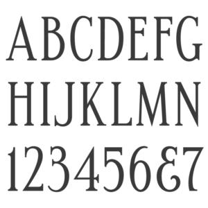 Spacerite Condensed Roman