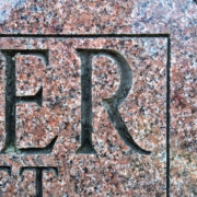 FAH Modified Roman font alternate 'R'