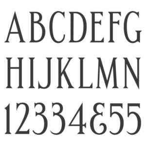 Handcut Condensed Roman