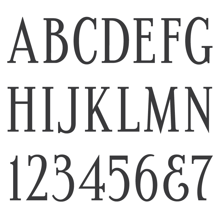 MLC Condensed Roman SKS font