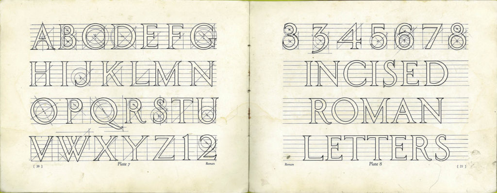 Incised Roman Lettering