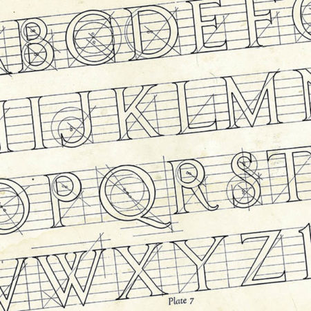 1923 Lettering in Marble Booklet