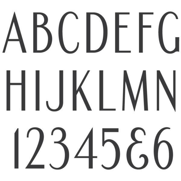 Condensed Roman Sans font