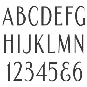 Condensed Roman Semi Sans font