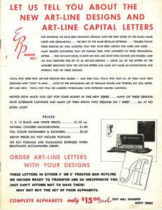 ERP Art-Line brochure