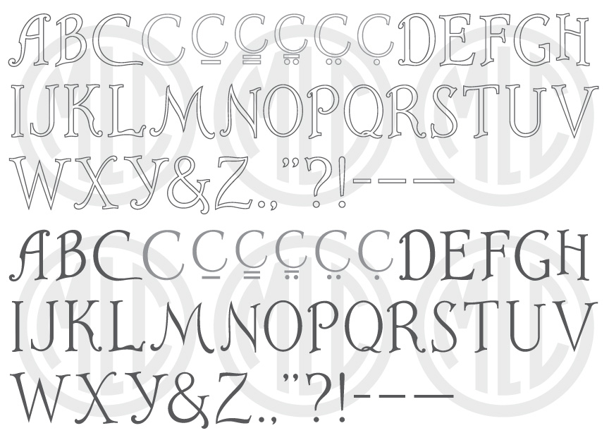 PMD Cutrite Art-Line font