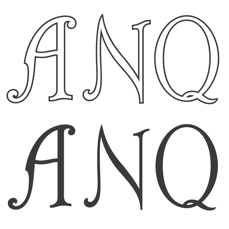 MLC Art-Line CR font