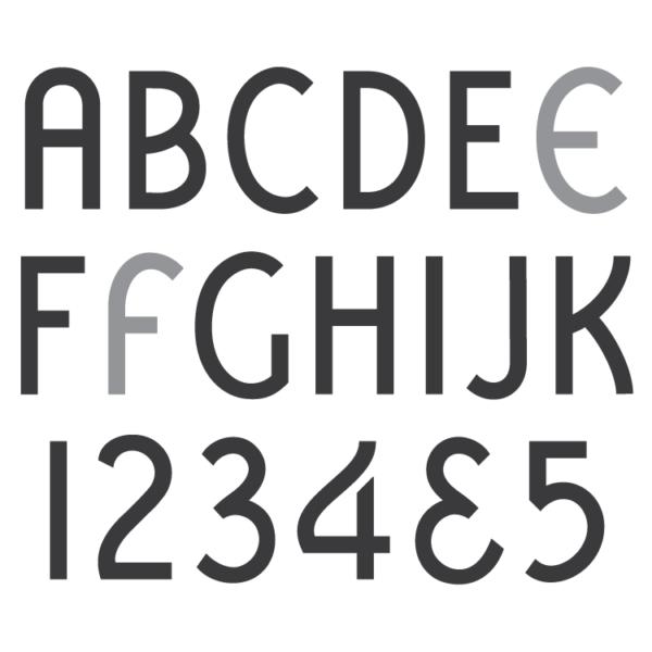 Spacerite Vermarco font