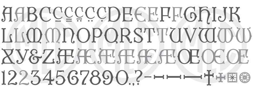MLC Lombardic FAH Monument Font