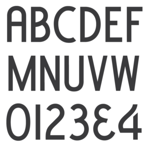 PALL Canada Condensed Block font.